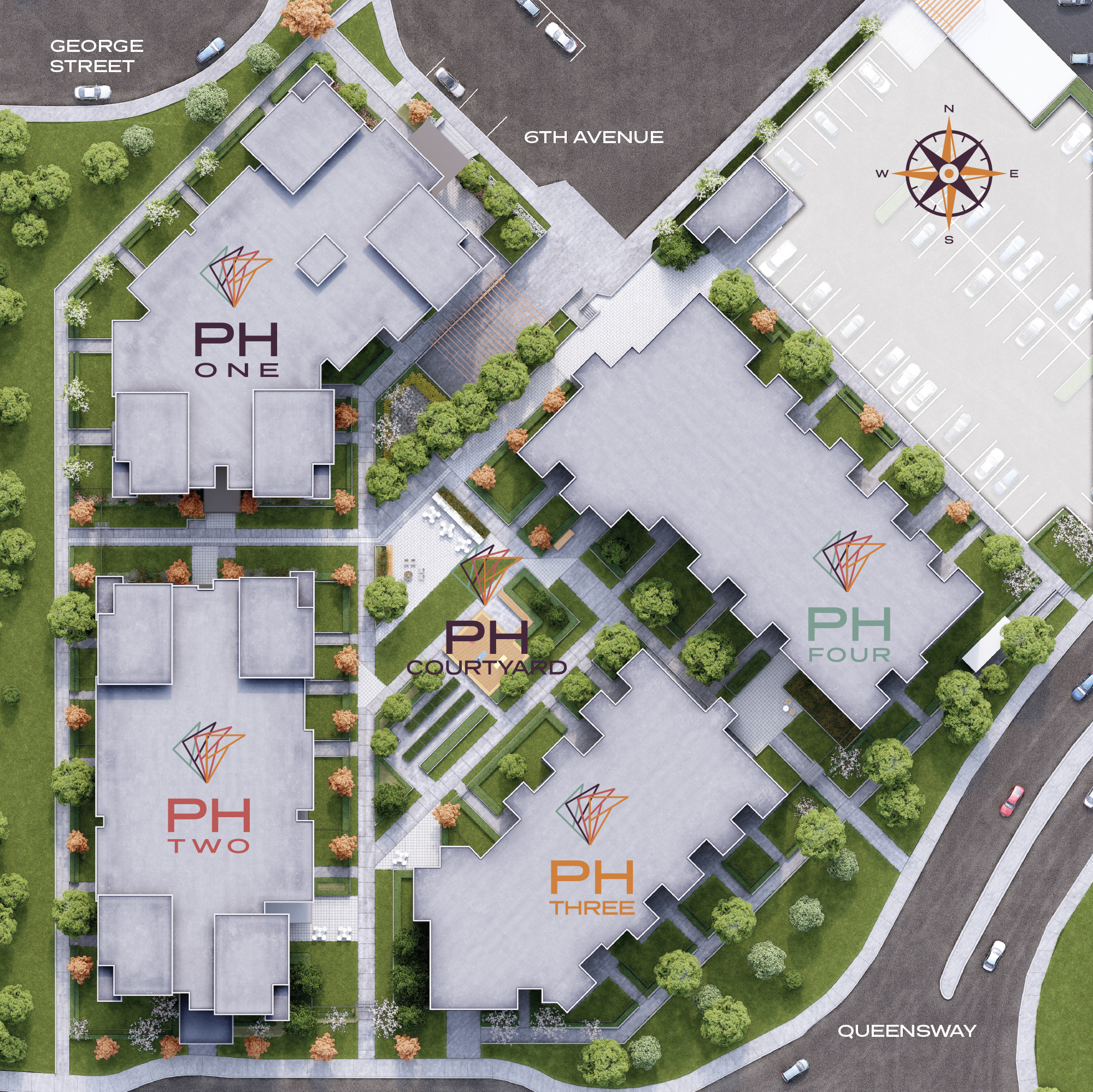 Park House Prince George site plan map